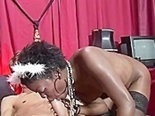 Real Black Hooker Plowed By Euro Tourist