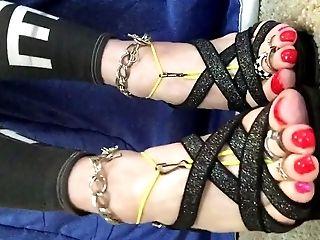 Shayna's Strappy High Stilettos