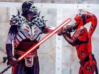 Starlet Wars: One Sith - Xxx Parody