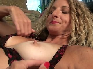 Tall Matures Bitch In Stockings Zoe Marks Is Frolicking Her Shabby Out Vag