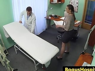 Euro Patient Point Of View Banged By Her Medic