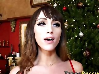Sexy Shemale Kylie Maria Is Ready For Hot Xmas Treat