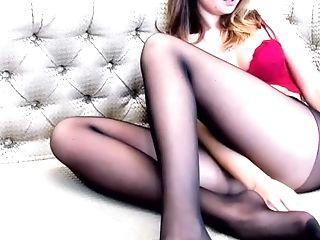2018-12-09_05-40-11 M67 19920368 1551. Blonde Lady W Sexy Black Stockings