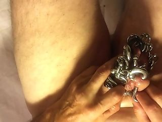 Pierced Slavedick In Abstinence Per Bariobear