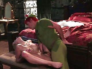 Peter Pen Lovemaking Parody Featuring Sexy Porno Model Keira Nicole