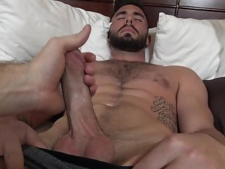 Bearded Queer Boy Gets Spoke Into Slurping On A Hard Dick