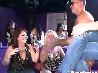 Real Soiree Ladies Prostate Stimulation Spunk-pump On Camera