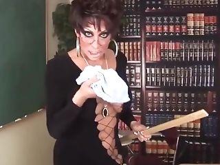 Kourtney Paige Van Wales Professor Tranny