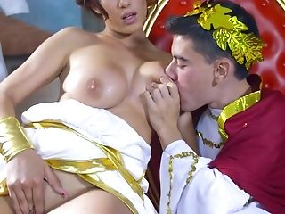Stunning Pornography Movie Scenes With A Cougar And A Youthful King