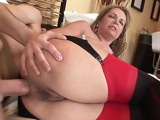 Old And Youthfull Ass-fuck: Big Backside Matures Mummy Booty-fucked By Junior Lad