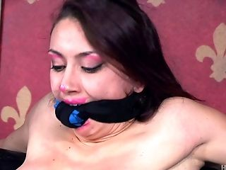 Beautiful Mandy Receives The Restrain Bondage Session That She Won't Leave Behind