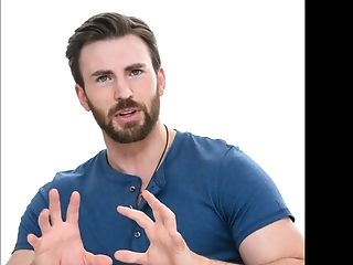 Chris Evans Wank Off Jism Challenge Queer Celeb Compilation