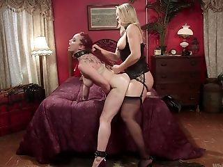 Ample Jugged Bella Rossi Is Fucked By Hot Blooded Mistress