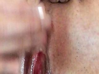 Ich Reib Mir Meine Nasse Poon Mit Analplug