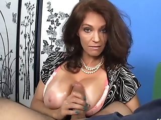 Matures Lady Vis So Horny Touching Your Man-meat And Strips You.