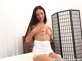 Big Dick Is Everything Nasty Chick Sasha Rose Desires Every Minute