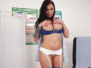 Unwrapping Buxom Nurse Called Charlie Atwell Is Must See For Sure