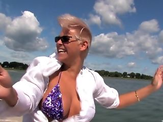Ultra-kinky Kendra Milky And Other Chicks Get Fucked On The Boat