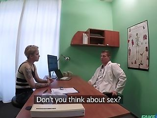 Megan Talerico Gets Fucked By Hard Doc's Dick On The Hospital's Couch