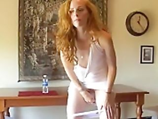 Desperate Woman Pissing In Petite Cup 03