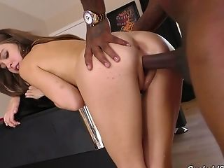 Brutish Wifey Riley Reid Is Fucked By Two Black Dudes Under Her Hubby's Nose