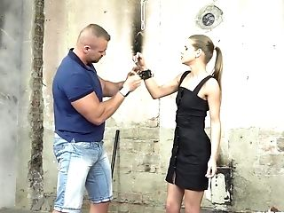 Obedient Czech Whore Sarah Kay Is Manacled And Treated Rather Hard