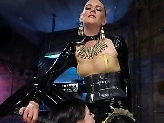 Teenager's First-ever Fem Dom Leaves Her Speechless And Weakened