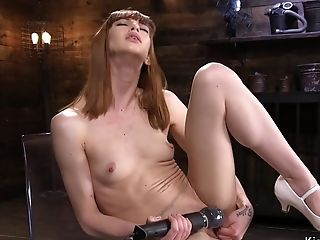 Domina fishnet missionary smalltits