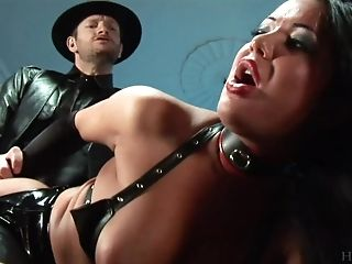 Pretty And Stunning Angelica Heart Likes Hard Backdoor Sex With Strong Dude