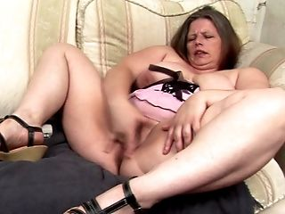 Eye Catching Matured Maiden Luving Frigging Her Edible Vagina In Bbw Seen