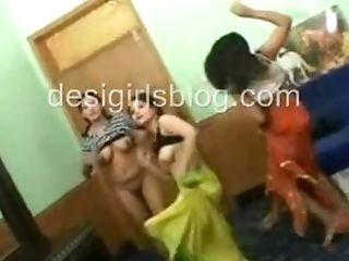 Indian School Teenage Honies Nude Dance In Their Hostel Room