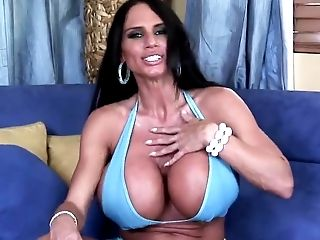 Large Bombed Dark Haired Penetrated