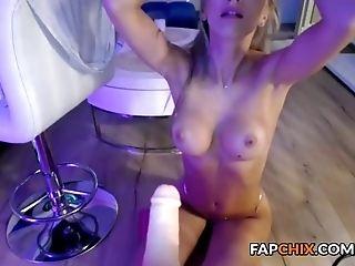 Hot Super-naughty Blonde Harlot Dreaming Of A Big Prick Beau