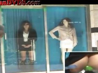 Crazy Japanese Window Boning Part Two - Marica Hase