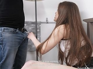 Emotional Teenage With Natural Smallish Tits Evelina Darling Is Fucked Rear End Hard