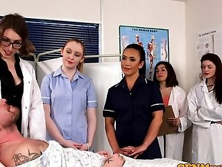 Cfnm Nurses Dicksucking Patient In Group