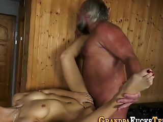 Nubile Fucked By Old Man
