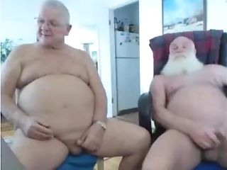 Two Grand-pa On Web Cam