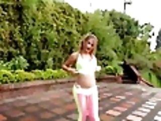 Colombian Transsexual Princess Silvia Santana Strokes Till Ejaculation