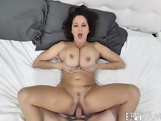 Mega Chesty Mummy Ava Addams Is Fucked Hard In Hidden Camera Flick