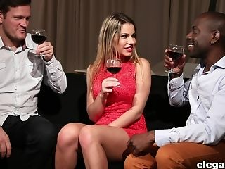 Rendezvous With Angel Rivas Concludes With Spunky Threesome Intercourse