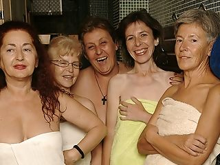 Ever Take A Peek In An All Female Matures Sauna