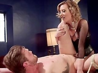 Mistress Booty-fucks House Boy Before Sitting On His Face