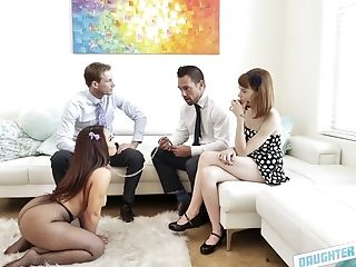 Exotic Brown-haired Chick Likes Nothing More Than Getting Her Cunt Fucked