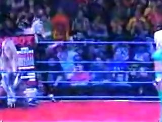 Sable Comes Back During Torrie Wilson's Playboy