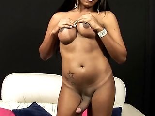 Brazilian Shemale With A Immense And Hard Shaft
