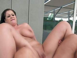 Supah Big-titted Mummy With Pierced Nips Anissa Jolie Gets Her Puss Rear End Fucked