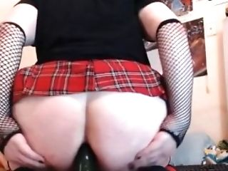 Femboy Analfuck With Cucumber Part 1