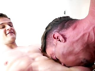 Horny Lad Loves Fucking A Friend's Butt More Than Anything