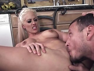 Big Tits Are Bouncing As Her Vag Is Receiving Big Pecker